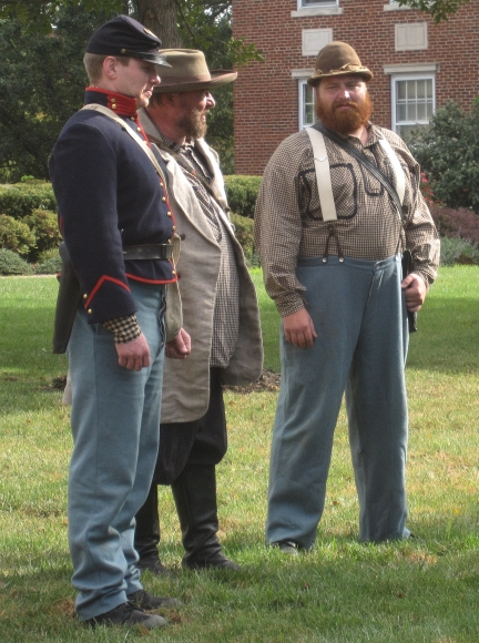 The Jacksons at the Battle of Liberty / Blue Mills Landing reenactment